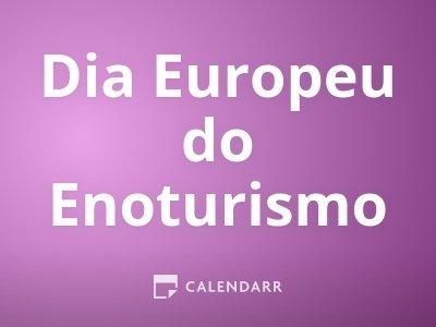 Dia Europeu do Enoturismo