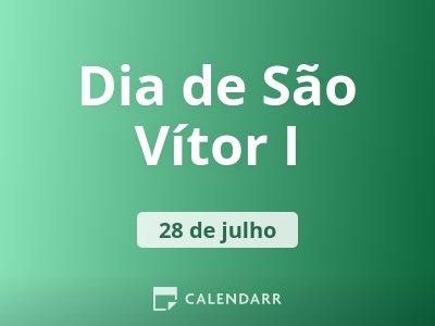 Dia de São Vítor I
