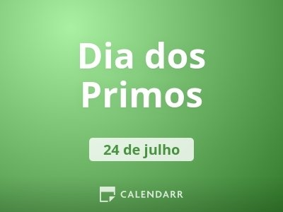 Dia dos Primos