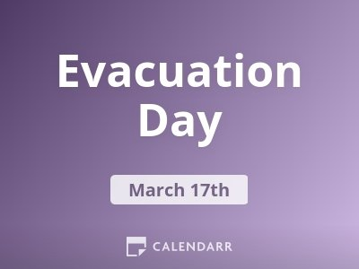 Evacuation Day