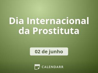 Dia Internacional da Prostituta