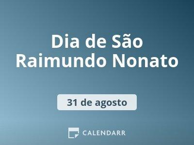 Dia de São Raimundo Nonato
