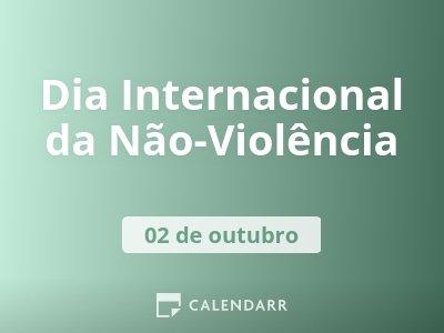 Dia da Não-Violência