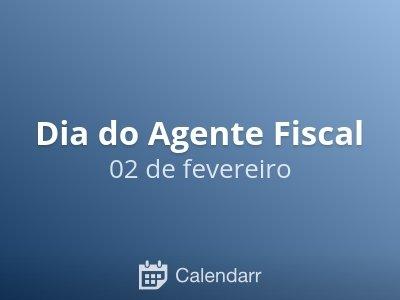 Dia do Agente Fiscal