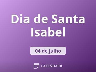 Dia de Santa Isabel