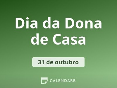 Dia da Dona de Casa