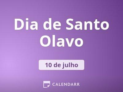 Dia de Santo Olavo