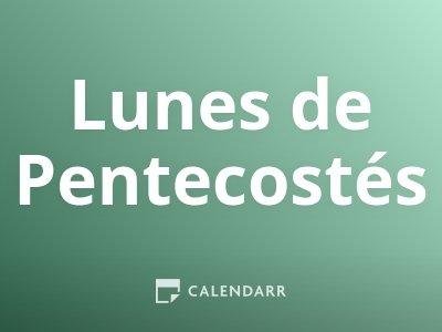 Lunes de Pentecostés