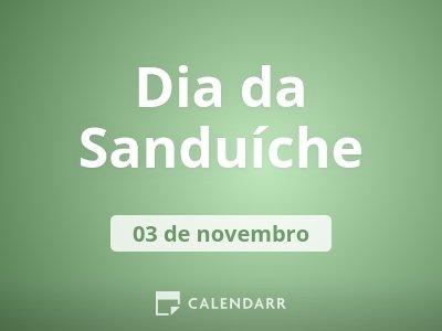 Dia da Sanduíche