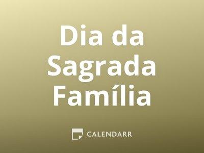 Dia da Sagrada Família
