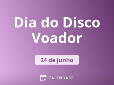 Dia do Disco Voador