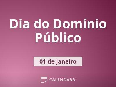 Dia do Domínio Público