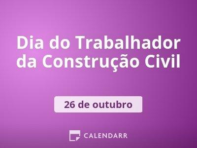 Dia do Trabalhador da Construção Civil
