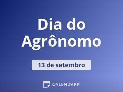 Dia do Agrônomo