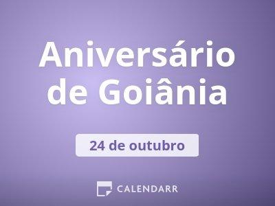 Aniversário de Goiânia