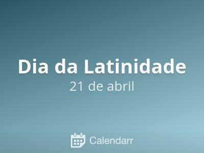 Dia da Latinidade