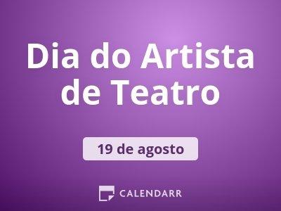 Dia do Artista de Teatro