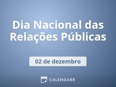 Dia Nacional das Relações Públicas