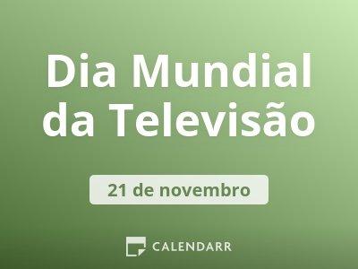 Dia Mundial da Televisão