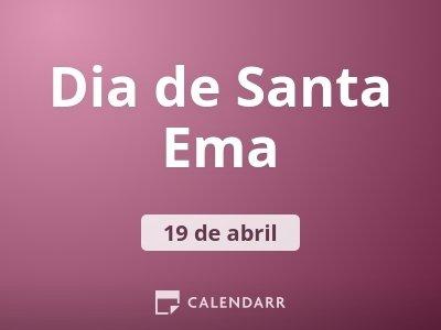 Dia de Santa Ema