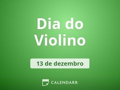 Dia do Violino