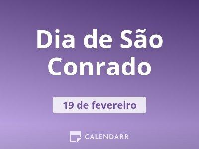 Dia de São Conrado