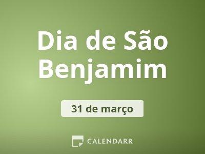 Dia de São Benjamim
