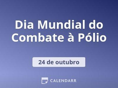 Dia Mundial do Combate à Pólio