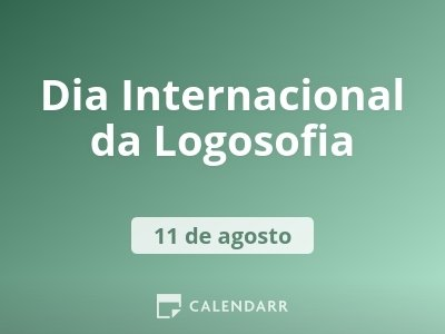 Dia Internacional da Logosofia