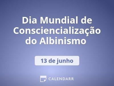 Dia Mundial de Consciencialização do Albinismo