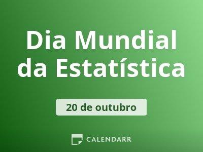 Dia Mundial da Estatística