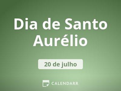 Dia de Santo Aurélio