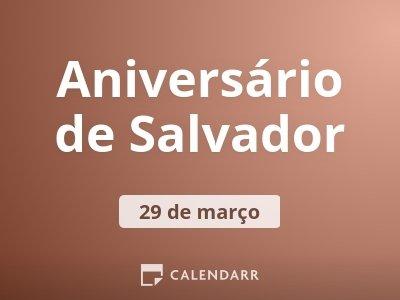 Aniversário de Salvador