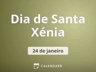 Dia de Santa Xénia