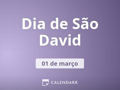 Dia de São David