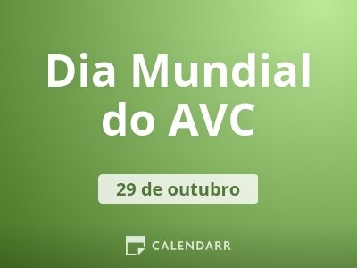 Dia Mundial do AVC