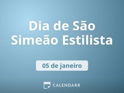 Dia de São Simeão Estilista