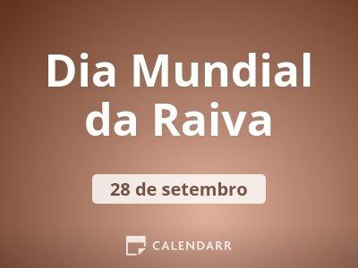 Dia Mundial da Raiva