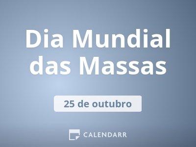 Dia Mundial das Massas