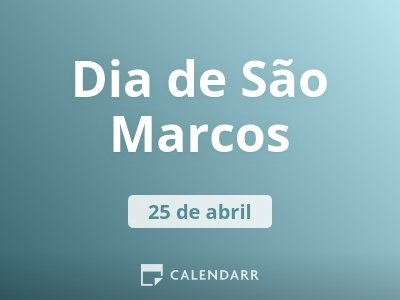 Dia de São Marcos
