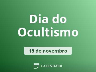 Dia do Ocultismo