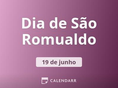 Dia de São Romualdo
