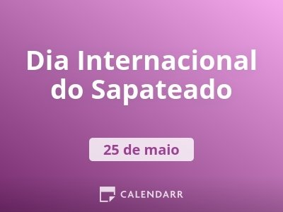 Dia Internacional do Sapateado
