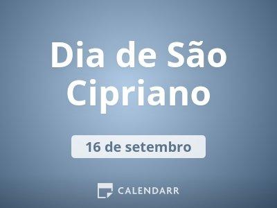 Dia de São Cipriano
