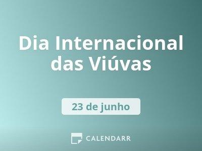 Dia Internacional das Viúvas