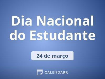 Dia Nacional do Estudante