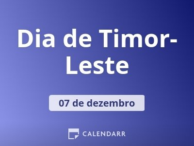 Dia de Timor-Leste