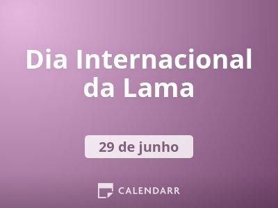 Dia Internacional da Lama