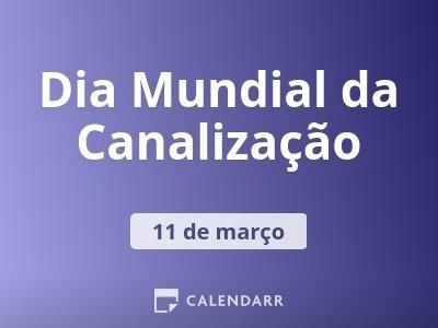 Dia Mundial da Canalização