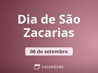 Dia de São Zacarias